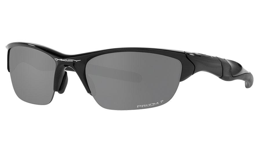 Oakley Half Jacket 2.0 Sunglasses - Polished Black / Prizm Black Polarised