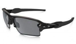 Oakley Flak 2.0 XL Sunglasses - Polished Black / Black Iridium Polarised