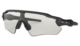 Oakley Radar EV Path Sunglasses - Steel / Clear Black Iridium Photochromic