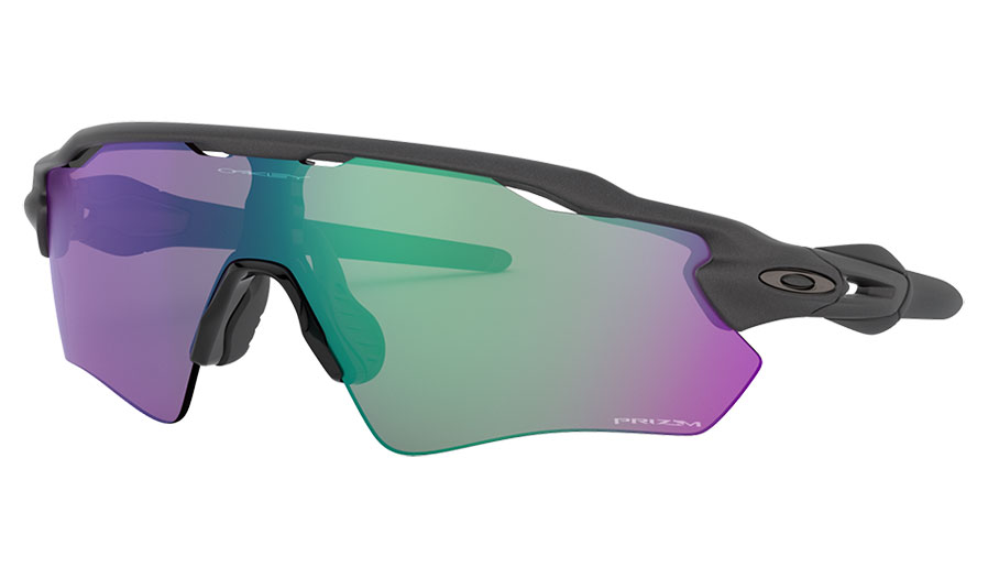 Oakley Radar EV Path Sunglasses - Steel / Prizm Road Jade