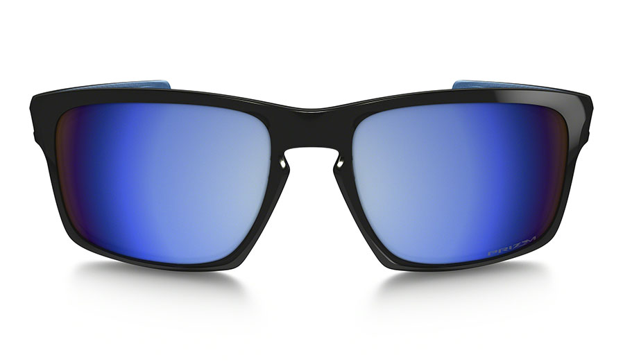 2ad4370f4f Oakley Sliver Sunglasses - Matte Black   Prizm Deep Water Polarised -  RxSport