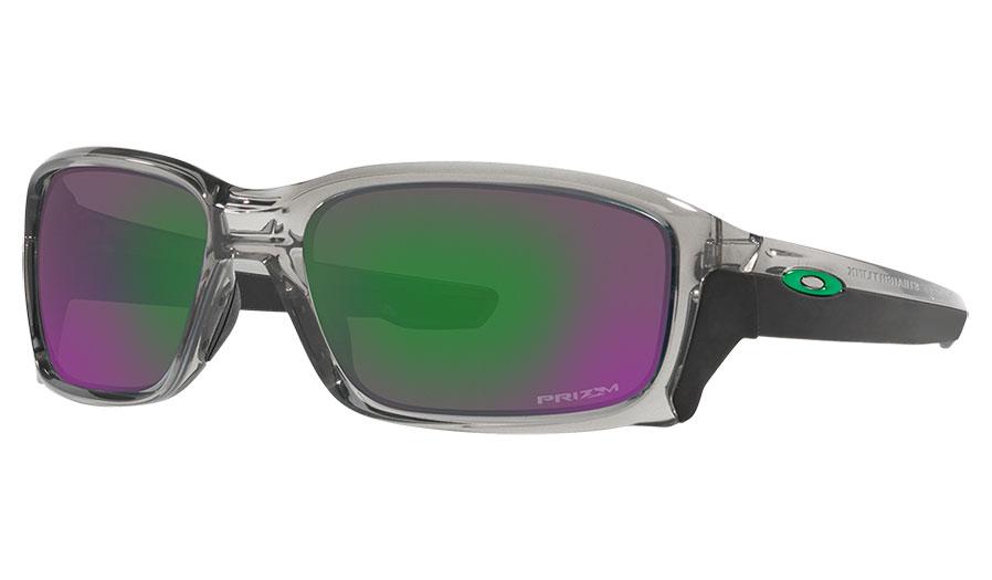 Oakley Straightlink Sunglasses - Grey Ink / Prizm Jade