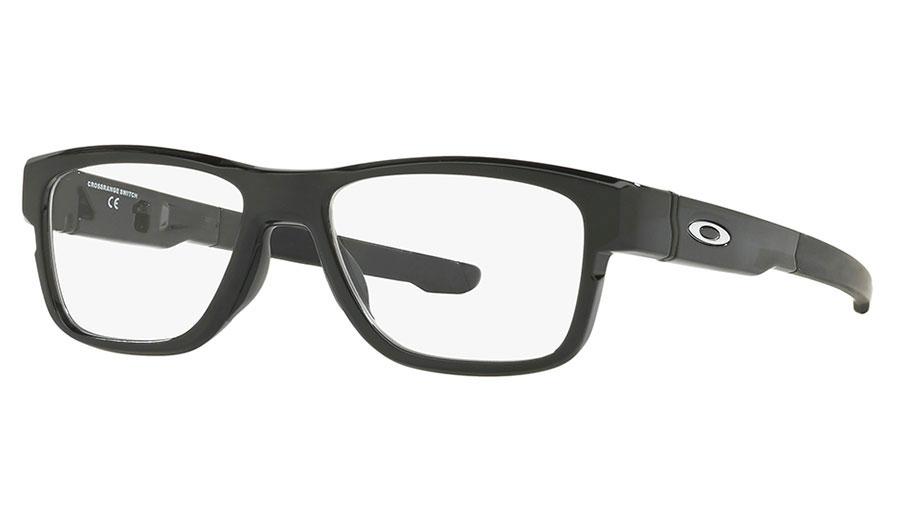 920c210c12 Oakley Crossrange Switch Prescription Glasses. Frame  Polished Black