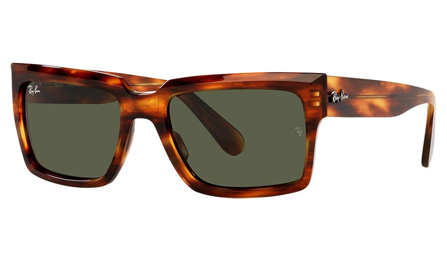 Ray-Ban RB2191 Inverness Sunglasses - Havana / Green