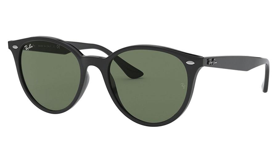 Ray-Ban RB4305 Sunglasses - Black / Green