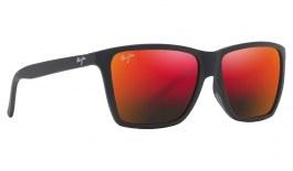 Maui Jim Cruzem Sunglasses - Matte Black / Hawaii Lava Polarised