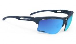 Rudy Project Keyblade Sunglasses - Matte Navy Blue / Polar 3FX HDR ML Blue