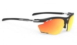 Rudy Project Rydon Prescription Sunglasses - Clip-On Insert - Matte Black (Running Edition) / Multilaser Orange