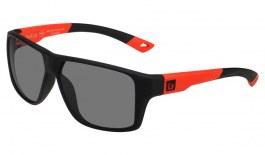 Bolle Brecken Prescription Sunglasses - Black & Red