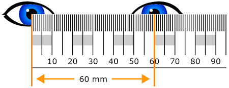 Irresistible image inside pupillary distance ruler printable
