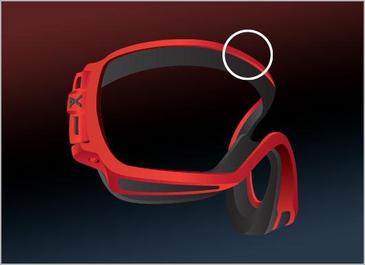 Anon Goggles Frame Technology - TPU Frame