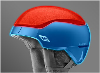 Atomic Helmet Technology - Inverted Hybrid Construction