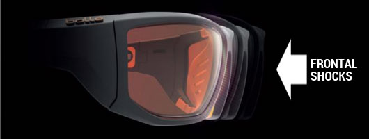 3f17f0670fc Bolle Shock Absorption System - Frontal Shocks. Bolle Sport Protective  Glasses ...