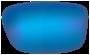 Dirty Dog Sunglasses Lenses - Grey Polarised with Blue Mirror