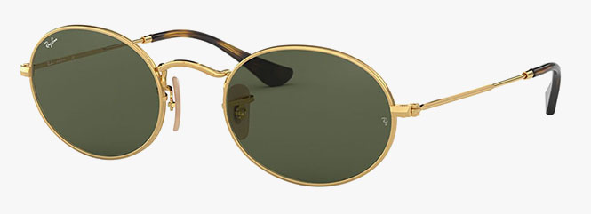 Ray-Ban RB3547N Oval Flat Lenses Sunglasses