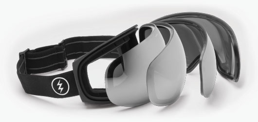 Electric Goggles - Press Seal Lens Technology