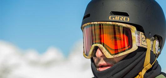 Giro Helmets - Seamless Goggles Integration