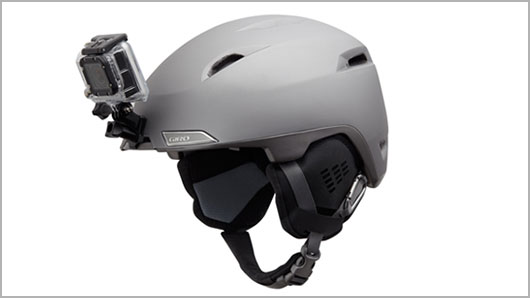 Giro Helmet Technology - GoPro Camera Mount Integration