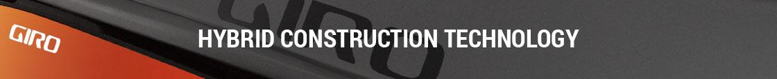 Giro Helmet Technology - Hybrid Construction