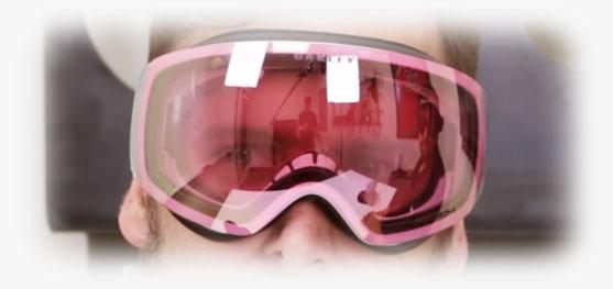 Ski Goggle Prescription Inserts - Indoors Demo