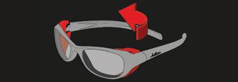 Julbo Sunglasses Technology - Removable Side Shields