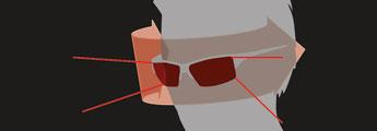 Julbo Sunglasses Technology - Panoramic View