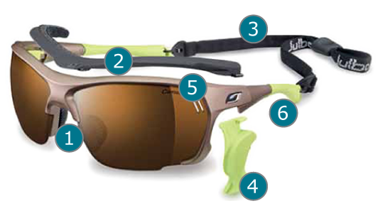 Julbo Frame Technology - Julbo Trek