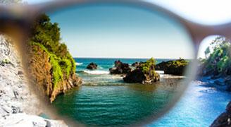 Maui Jim Prescription Lens Features - Solid Mirrors