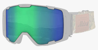Melon Ski Goggles - Choose Your Lens