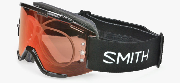 Mountain Bike Goggles in Prescription
