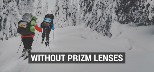 Oakley Ski Goggles - Prizm Snow Lens Comparison - With Prizm Lenses