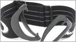 Silicone-Lined Strap