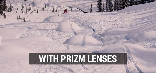 Oakley Ski Goggles - Prizm Lens Comparison - With Prizm Lenses