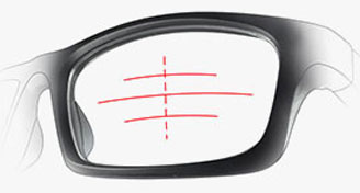 Oakley TruBridge - Centred Line Of Sight