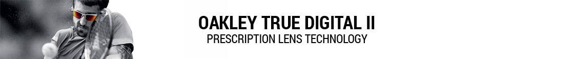 Oakley Prescription Sunglasses - Oakley True Digital II Technology