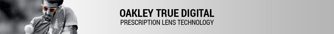 Oakley Prescription Sunglasses - Oakley True Digital Technology