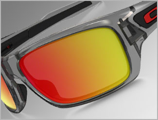Oakley Sunglasses - Iridium Mirrored Lenses
