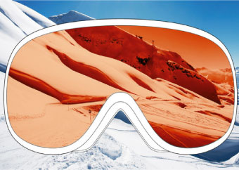 POC Goggles Technology - Maximised Field of View
