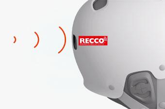 POC Helmet Technology - Recco avalanche rescue reflector