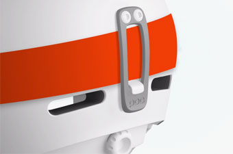 POC Helmet Technology - Detachable Goggle Clip