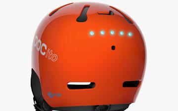 POC Helmet Technology - Integrated LED panel