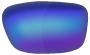 Ray-Ban Sunglasses Lenses - Blue Mirror Polarised