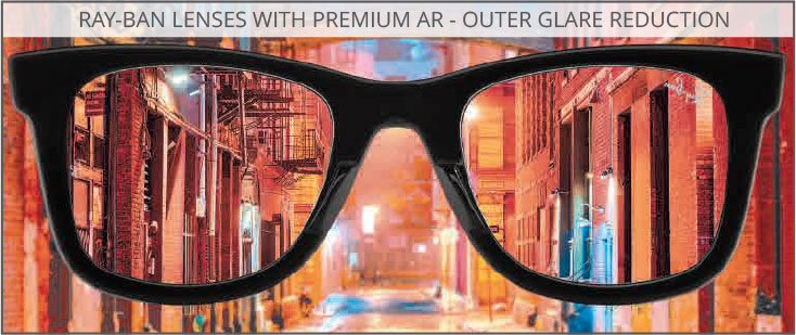Ray-Ban Lens Technology - Premium Anti-Reflective Coating