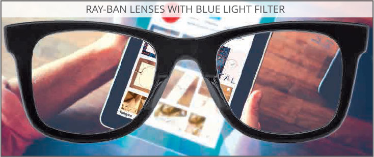 Ray-Ban Lens Technology - Blue Light Filter