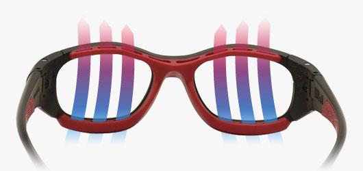 Rec Specs Protective Glasses - Ventilation