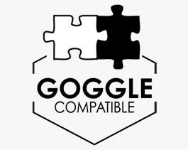 Goggle compatible