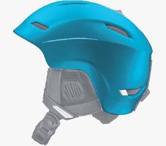 Salomon Helmets - In-Mold Construction