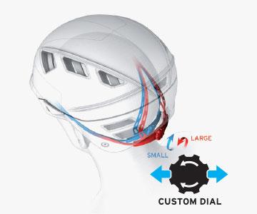 Salomon Helmets - Custom Dial Fit System