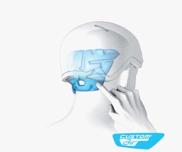 Salomon Helmets - Custom Air Fit System
