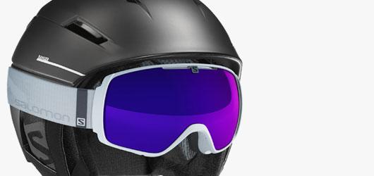 Salomon Goggles - Helmet Compatibility